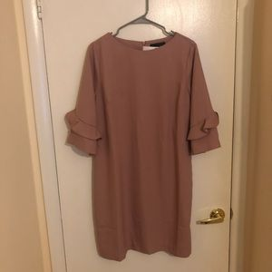 Banana Republic Frill Sleeve Dress